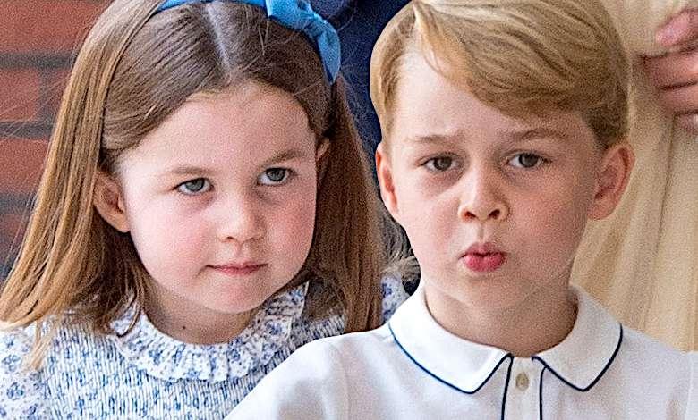 George i Charlotte chrzest Louisa