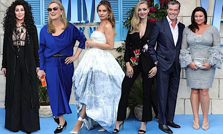 Mamma Mia 2, premiera w Londynie