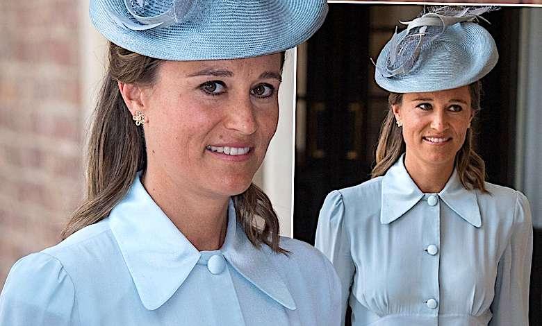 Siostra Louisa Tomlinsona Picture: Pippa Middleton W Ciąży Na Chrzcie Księcia Louisa W