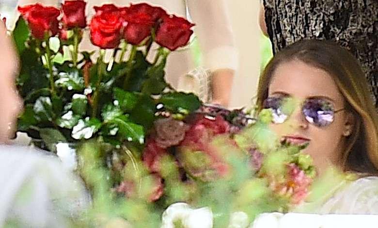 Wystrojona Pola Lis w niebotycznych szpilach na luksusowej kolacji z ukochanym. Tak rozpieszczają się w Anglii