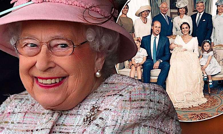 Cały świat łapie się za głowę! Nikt nie zauważył królowej Elżbiety II na portrecie z chrztu księcia Louisa! Co za niedopatrzenie!