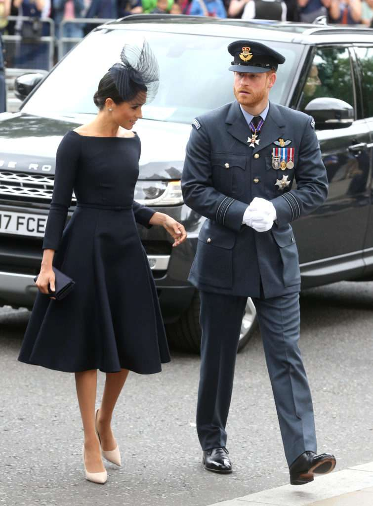 Meghan Markle i książę Harry – 100-lecie Royal Air Force