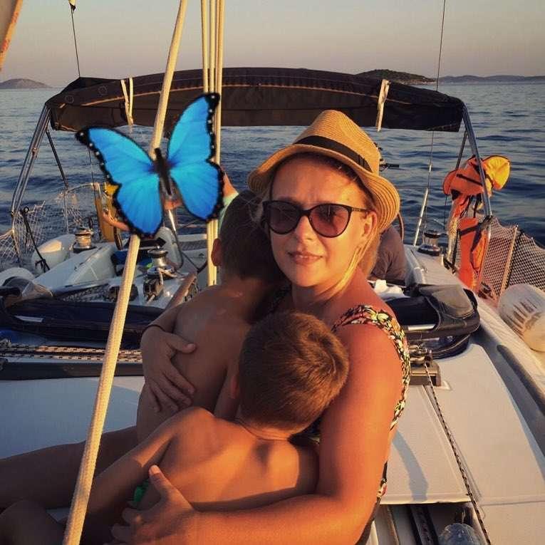 Aneta Zając pokazała synów w Chorwacji