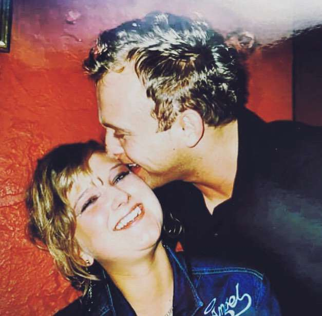 Borys Szyc i Justyna Nagłowska 17 lat temu