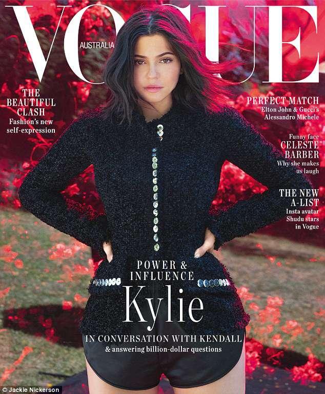 Kylie Jenner na okładce Vogue Australia