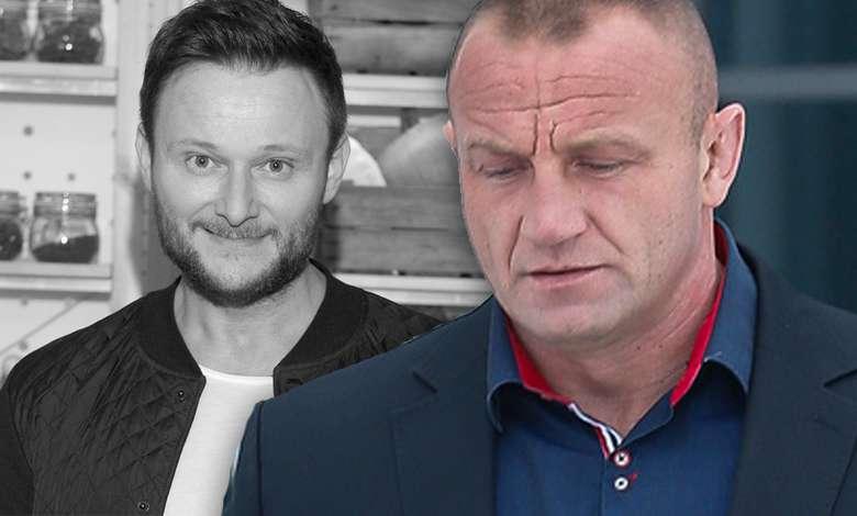 Mariusz Pudzianowski omentuje śmierć Konrada Gacy