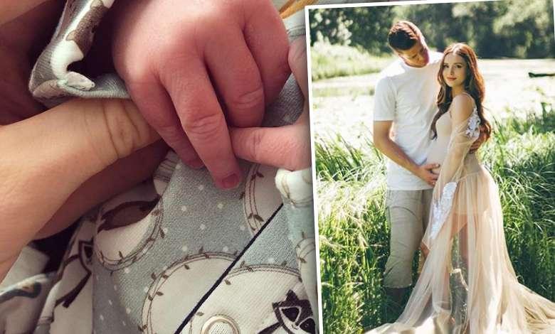 Marina Łuczenko świętuje pierwszy miesiąc Liama Szczęsnego
