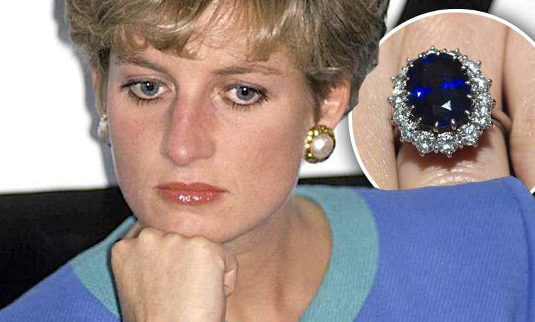 Księżna Diana pierścionek zaręczynowy