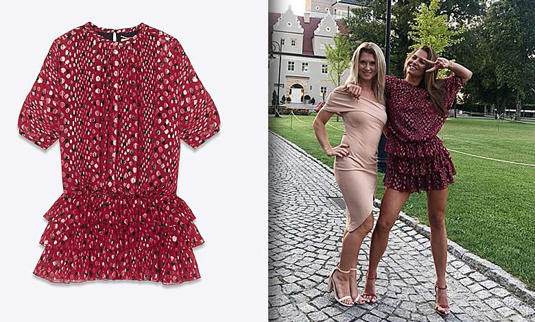 Sukienka Anny Lewandowskiej - Yves Saint Laurent