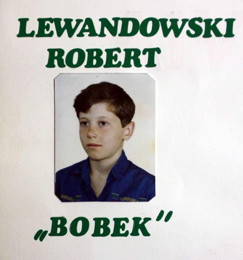 Robert Lewandowski nazywany był Bobkiem