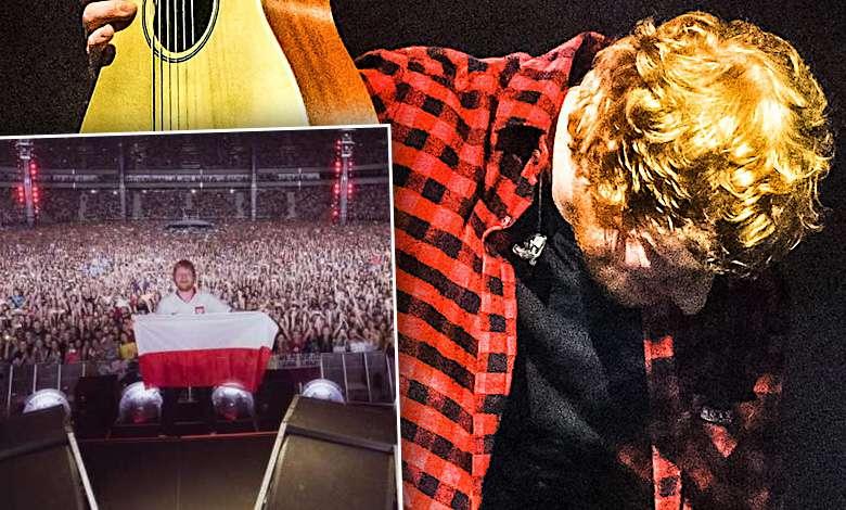 Ed Sheeran w Polsce. Zdjęcia z koncertów