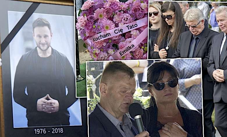 Rodzina i tłum przyjaciół pożegnali Konrada Gacę. Ostatnie słowa jego córki chwytają za serce