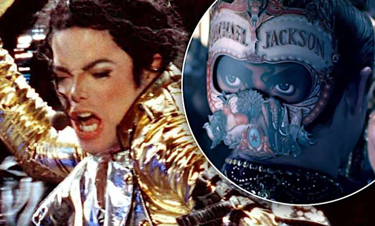 Michael Jackson teledysk Behind the mask
