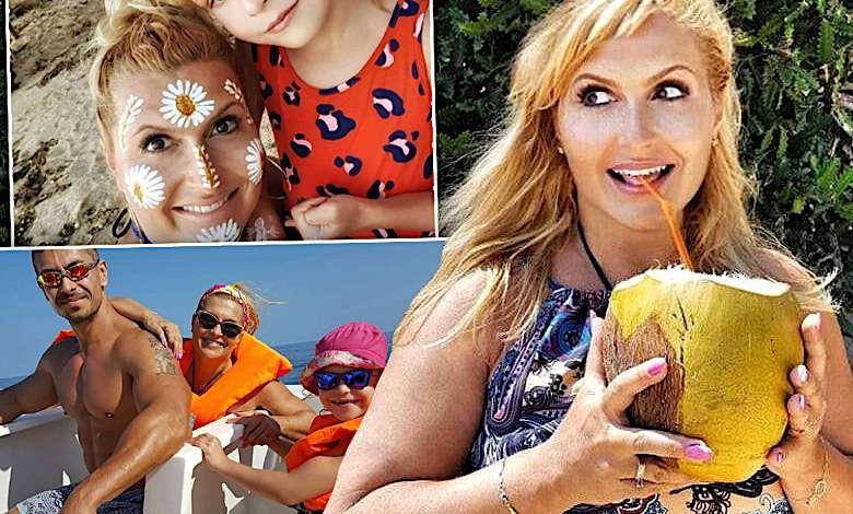Katarzyna Skrzynecka z córeczką i mężem na szalonych wakacjach w AFRYCE! Bajeczne zdjęcia trafiły do sieci! [DUŻO ZDJĘĆ]