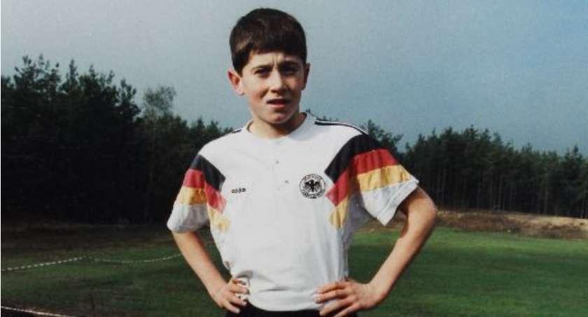 Robert Lewandowski w dzieciństwie