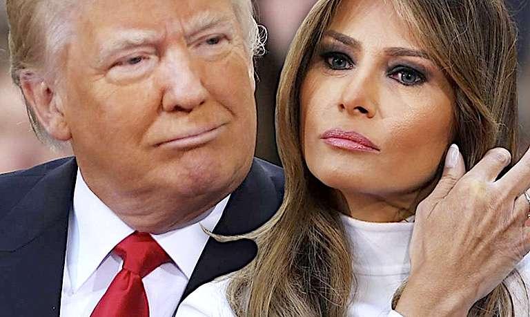 Melania Trump i Donald Trump chcą się rozwieść