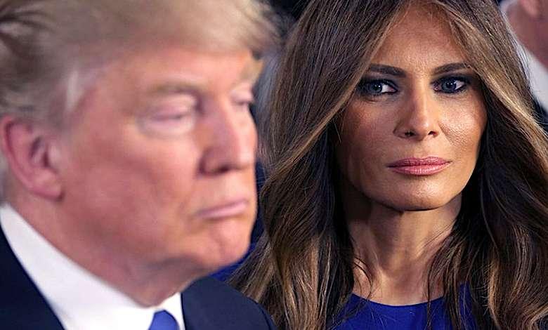 Melania Trump i Donald Trump rozwód