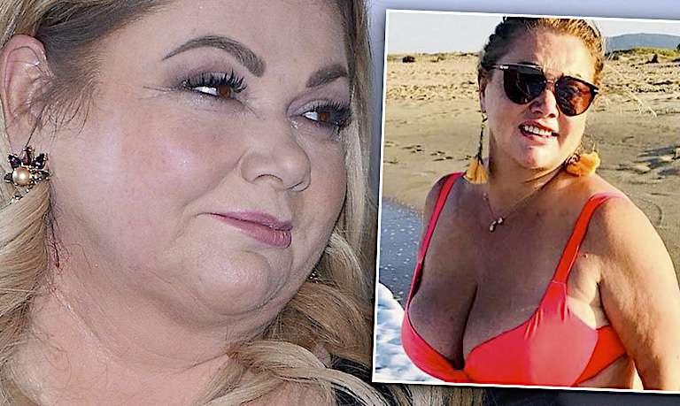 """Tak schudła Katarzyna Niezgoda! Odsłoniła brzuch w bikini! """"Nie boję się odważnych ujęć"""""""