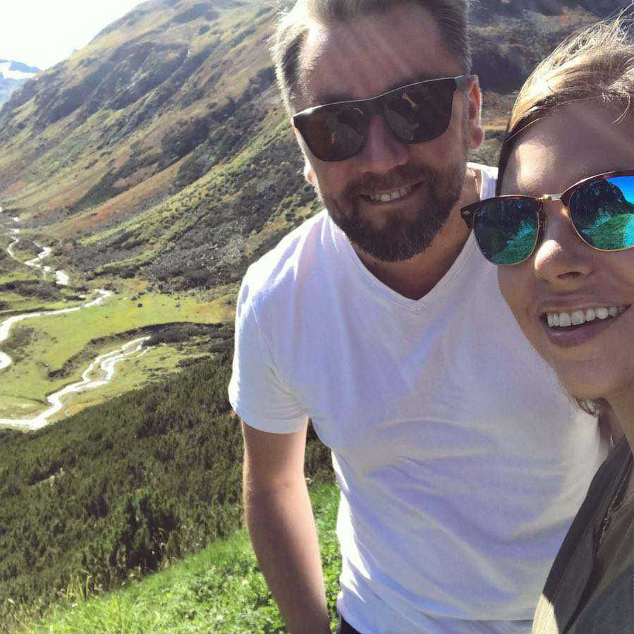Aleksandra Kwaśniewska i Kuba Badach świętują swoją 6 rocznicę ślubu w górach