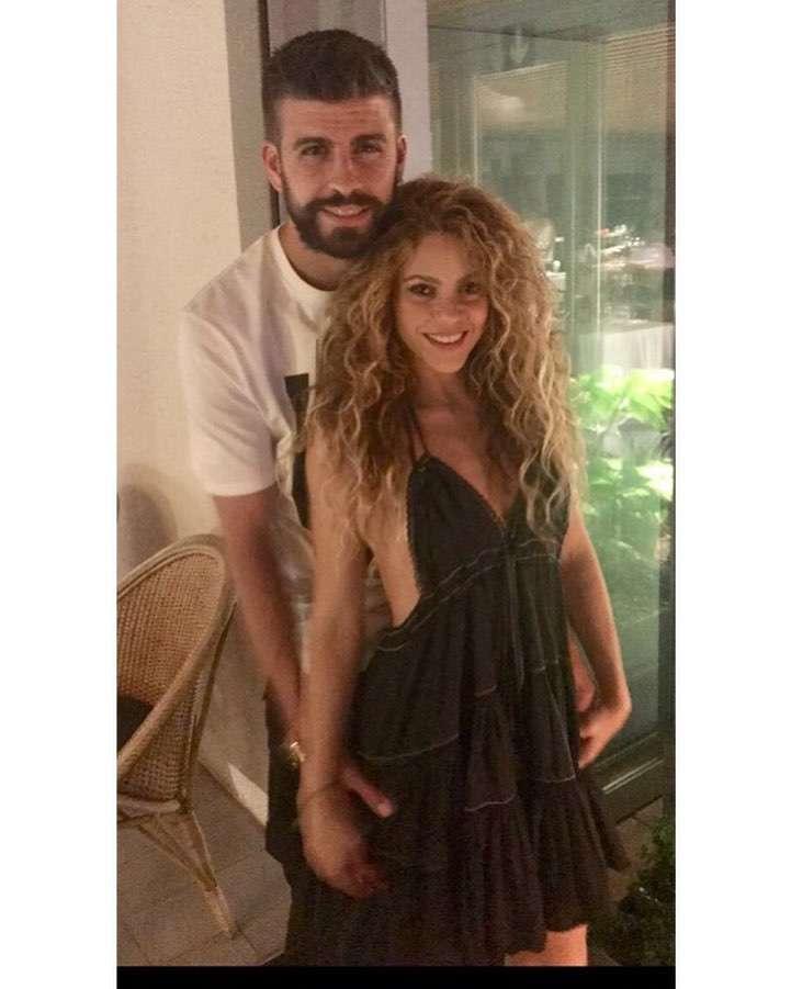 Gerard Pique i Shakira na randce
