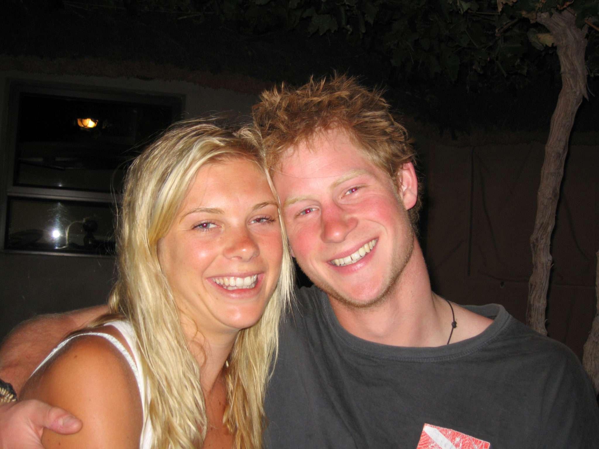 Książę Harry i Chelsy w młodości 2009 rok