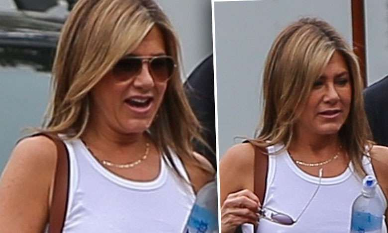 Jennifer Aniston błysnęła sutkami