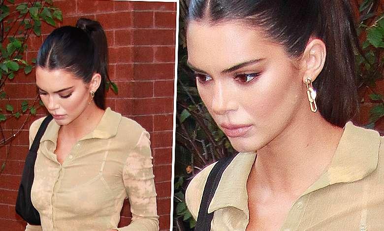 Kendall Jenner jest przeraźliwie chuda