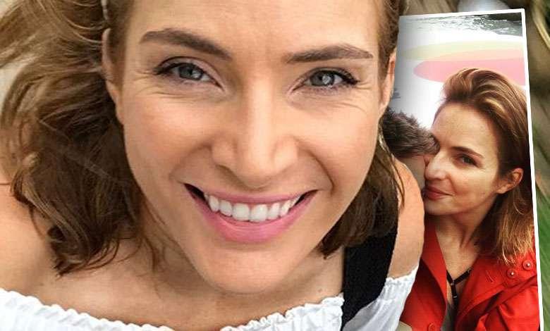 Anna Dereszowska z partnerem w Wenecji