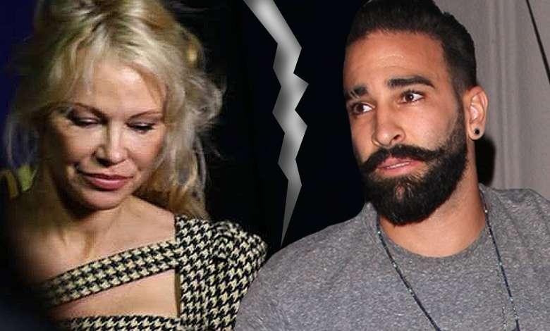 Pamela Anderson i Adil Rami rozstali się