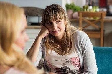 Małgorzata Socha pokazała kadr z serialu