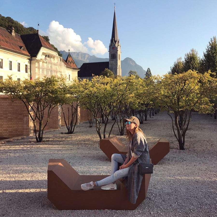 Ola Kwaśniewska w Liechtensteinie
