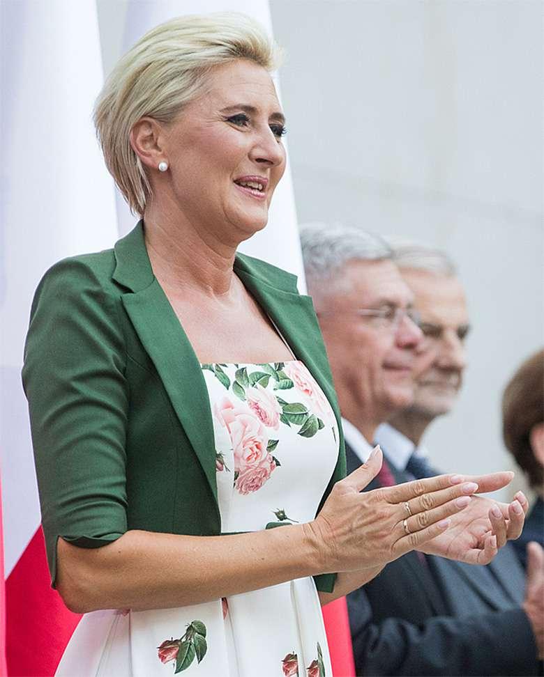 Andrzej Duda i Agata Duda na Światowym Zjeździe Polonii