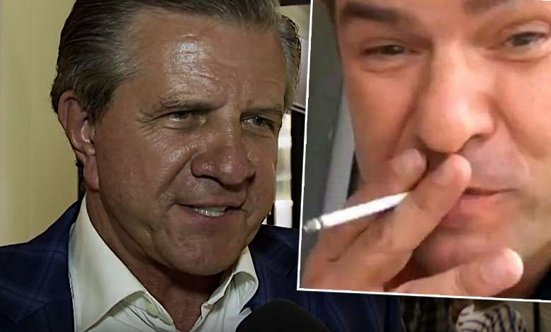 Zygmunt Chajzer, Tomasz Karolak, palenie