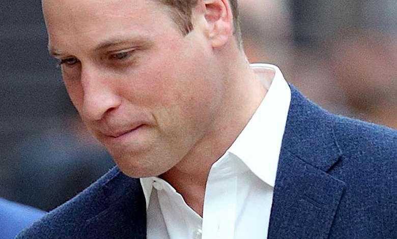 Książe William wpadka