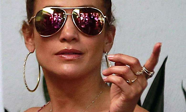 Jennifer Lopez jak kloszard