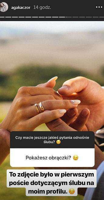 Agnieszka Kaczorowska pokazała nowe zdjęcia ze swojego ślubu
