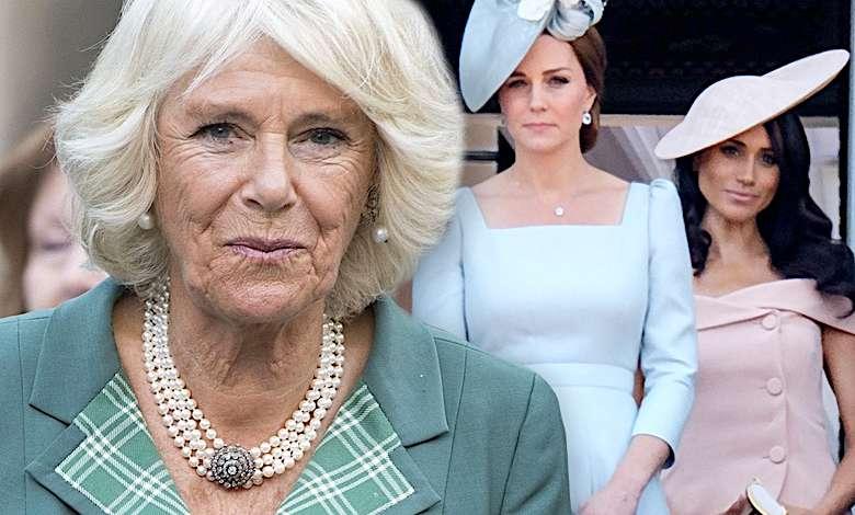 Meghan Markle, księżna Kate, Camilla