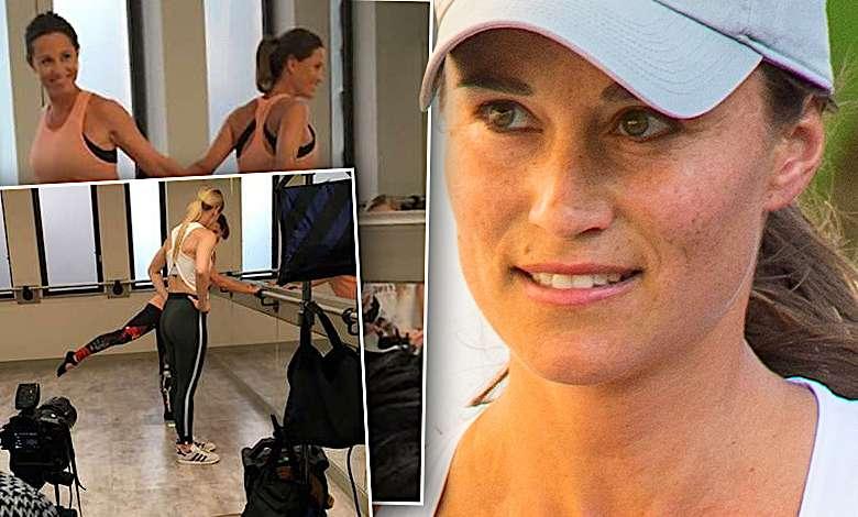 Pippa Middleton siłownia