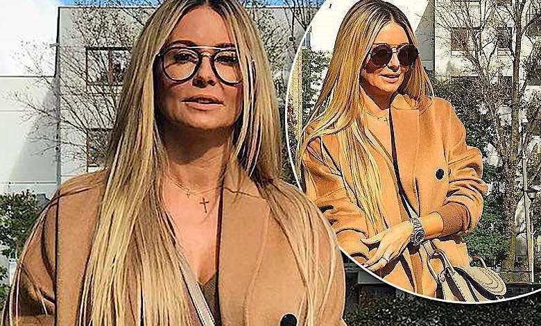 Małgorzata Rozenek stylizacja jesienna