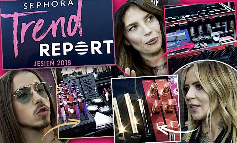 Sephora Trend Report 2018 relacja