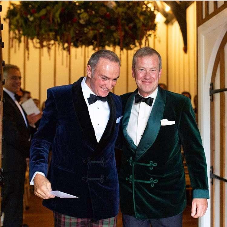 Lord Ivar Mountbatten i James Coyl – zdjęcia z gejowskiego ślubu w rodzinie królewskiej