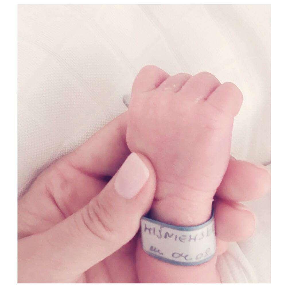 Małgorzata Socha urodziła syna Stasia