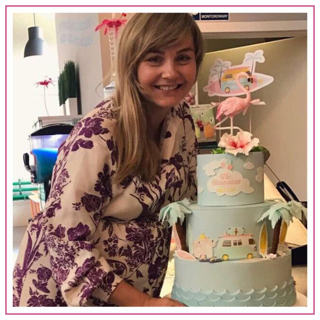 Małgorzata Socha przed samym porodem świętuje 5 urodziny córeczki