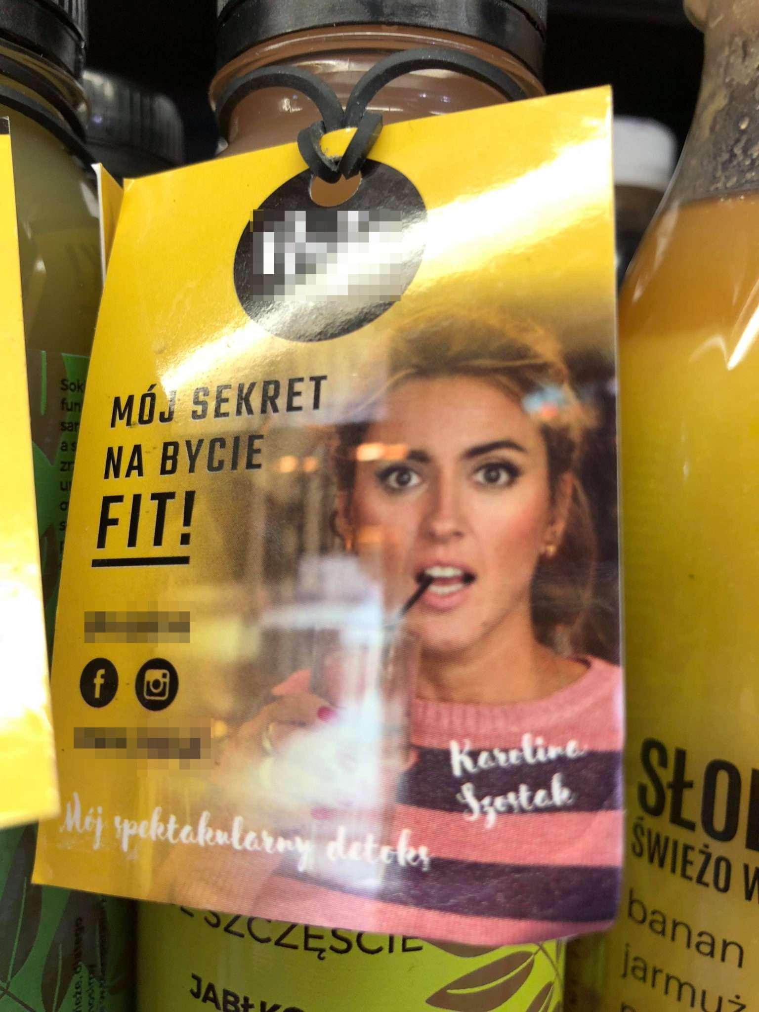 Karolina Szostak reklamuje soki. Czy zmieniła dietę?