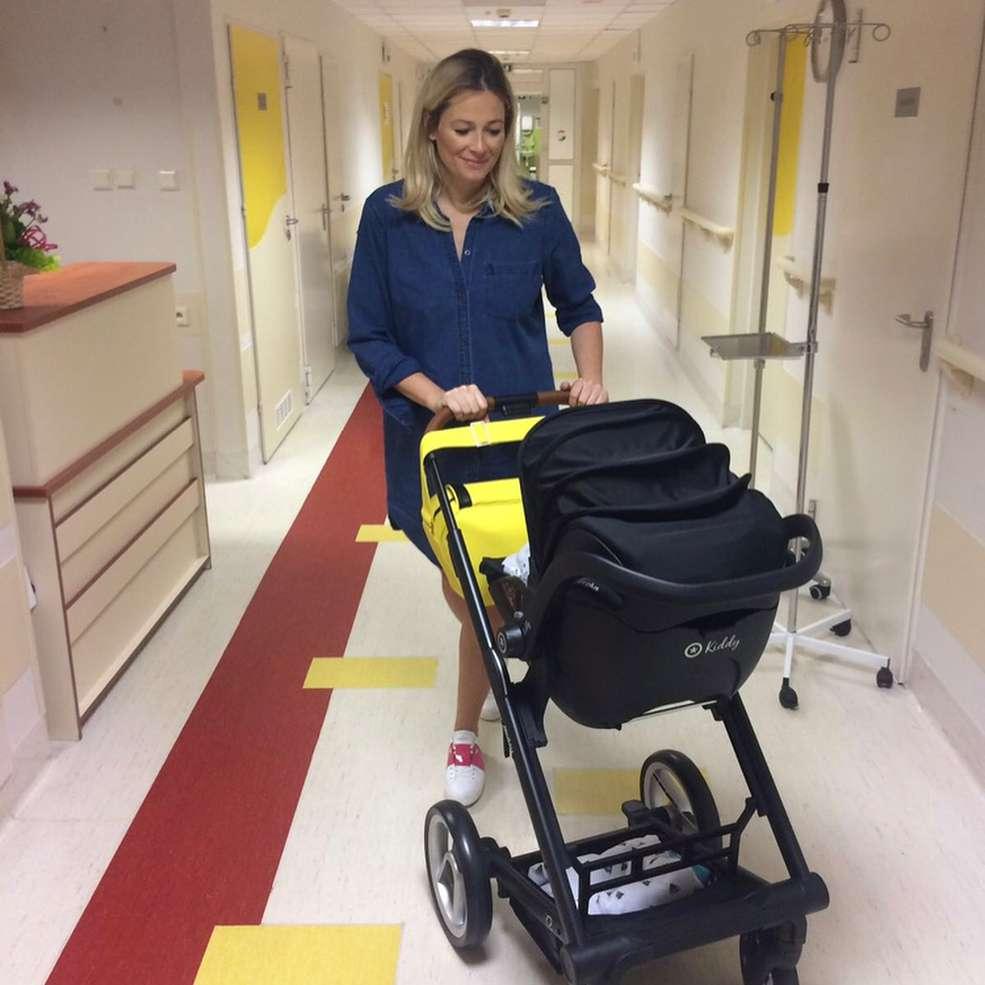 Odeta Moro pokazała wózek