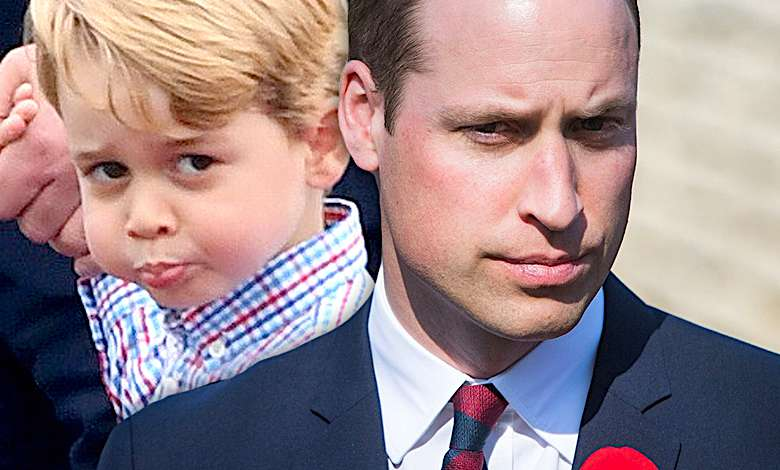 Książę William ośmieszony, książę George