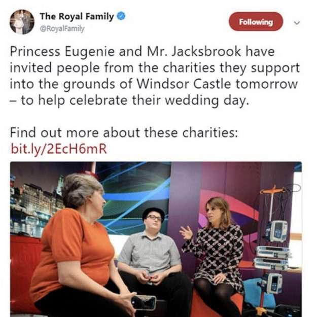 Zdjęcie (1) Totalna kompromitacja pałacu przed samym ślubem księżniczki Eugenii! Internet wybuchł śmiechem