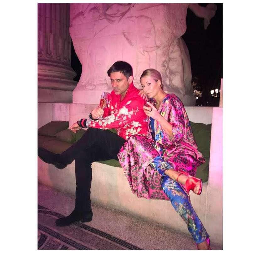 Marcin Tyszka i Małgorzata Rozenek w Paryżu