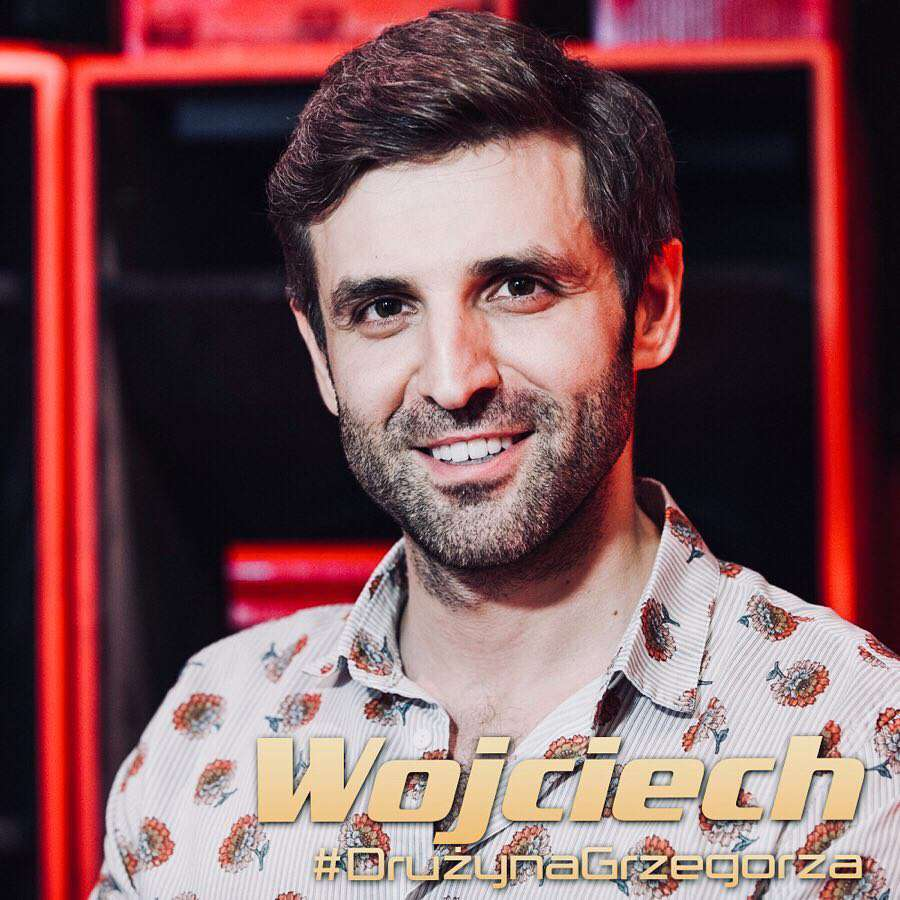 Wojciech Ezzat w The Voice of Poland