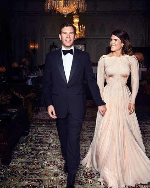 księżniczka Eugenia w drugiej sukni ślubnej